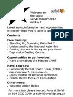 Sefyll Mailing Jan 2012
