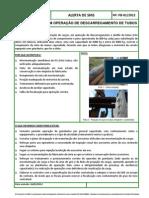Alerta de SMS PB 001_2012_operação descarregamento tubos