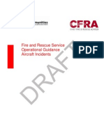Cfra Ops Guidance Aircraft Incidents