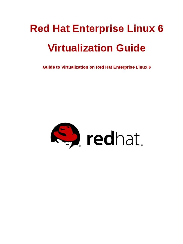 Red hat enterprise linux 6 virtualization en us virtualization device driver