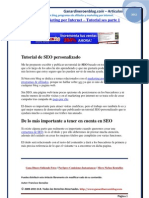 DESCARGAR GRATIS TUTORIAL SEO - El SEO y el Marketing por Internet
