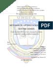 MÉTODO DE OPTIMIZACIÓN CON RESTRICCIONES