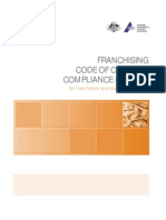 Australia Franchising Code of Conduct Compliance Manual 2