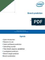 [2011!03!05] Branch Prediction