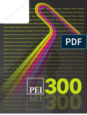 2011 PEI 300 | Private Equity | Investment Management