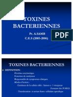 TOXINES BACTERIENNES