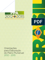Orientacoes Para Elaboracao Do PPA 2012-2015