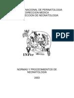 Normas INPer Instituto Nacional de Perinatologia