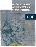 Fehim Dz. Spaho - Opsirni Popis Kliskog Sandzaka Iz 1550