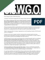 USWGO Letter to to Brian Kemp Georgia Secretary of State over Obama Eligibility trial