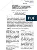 Efficacy and Toxicity of Doxorubicin And