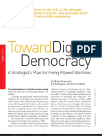 Digital Democracy -- Strategy and Business (Moon Colony Art)