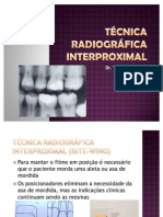 Técnica radiográfica interproximal