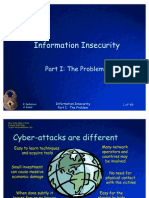Information In Security Part 1 the Problem