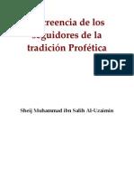 El Aqida de los seguidores de la tradición profética