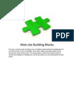 Website Building Blocks