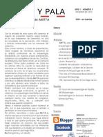 A pico y pala. Boletínd e AMTTA 1-1 invierno de 2012