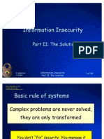 Information In Security Part 2 the Solution