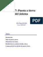 Electric Id Ad - Tema 7 Puesta a Tierra Del Sistema