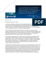 Archbishop Carlson's Letter 02-01-12