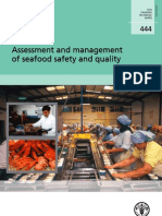 Assessment and Management of Seafood Safety and Qualityt HUSS