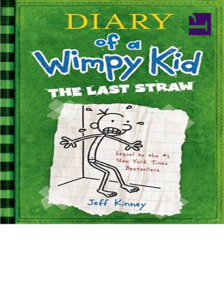 Diary Of A Wimpy Kid The Last Straw Boo Jeff Kinney Chimpanzee