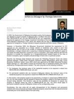 FIC Ruling for Selangor Properties