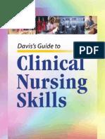 Davis's Guide to Clinical Nursing Skills