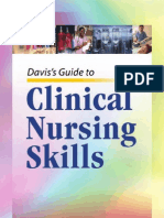 Davis's Guide to Clinical Nursing Skills
