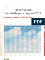 Asian Perspective on Climate Regime Beyond 2012