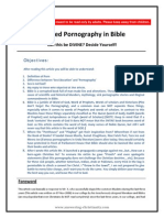 X- Rated Pornography in Bible