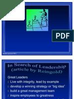 Leadership in Hbo Presemi