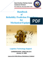 Handbook of Reliability Prediction of Mechanical Designs