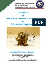 Handbook of Reliability Prediction of Mechanical Designs