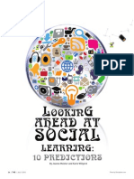 Predictions of Social Learning