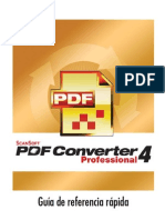 PDF Pro 4 Quick Reference Guide Spa