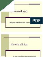 Historia Clinica, Clase Inicial