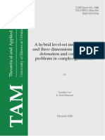 Sunhee Yoo and D. Scott Stewart- A hybrid level-set method in two and three dimensions for modeling detonation and combustion problems in complex geometries