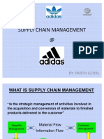Supply Chain Management (Adidas)