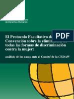 IIDH - procolo facultativo de la CEDAW - análisis de los casos del Comité