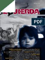 Revista Izquierda no. 19, febrero de 2012