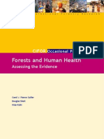 Forest and Human Health