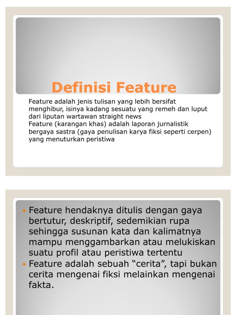 1 Definisi Feature