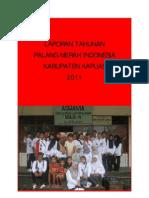 Laporan Tahunan PMI Kabupaten Kapuas 2011