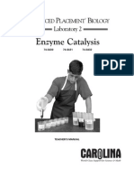 AP Lab 2 Enzyme Catalysis