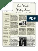 Newsletter Volume 4 Issue 06