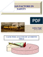 Human Factors in Safety - Revised on 15-09-2010