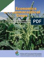 UCS Economics Pharma Crops