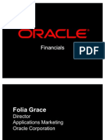 Oracle Financials Overview