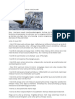 Kronologi Tenggelamnya Kapal Pesiar Costa Concordia